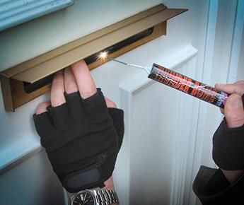 Max6 anti vandal 10 inch letterbox for Salt air resistant door hardware