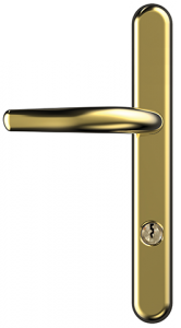 long backplate handle
