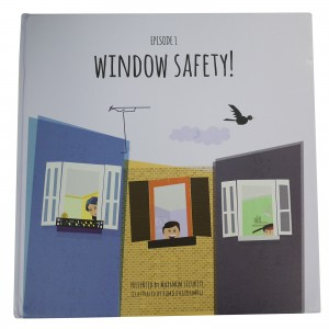 window safety front cover